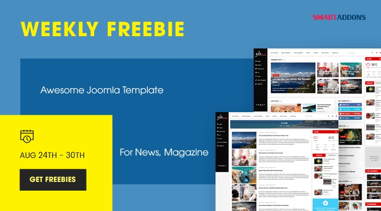 Weekly Freebie #1: Get Sj ExpNews Template Package For Free