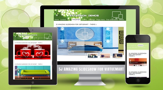 SJ Amazing Slideshow for VirtueMart - Responsive Joomla Module