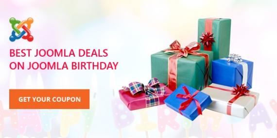 Celebrating the 10th Years of Joomla with Amazing Joomla Deals