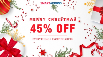 Merry Christmas! Save 45% OFF Everything & Exclusive Xmas Gifts