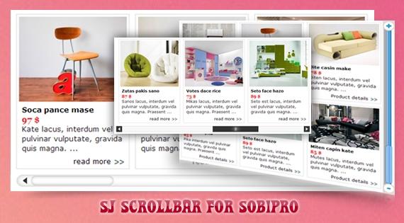 SJ Scrollbar for SobiPro - Joomla! Module