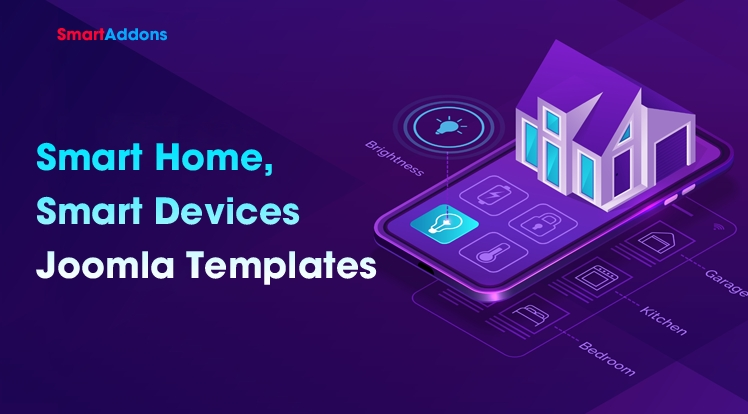 Best Smart Home, Smart Devices Joomla Templates 2020