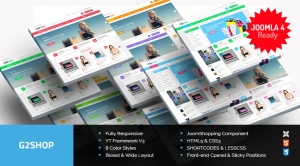 SJ G2Shop - Responsive Joomla eCommerce Template