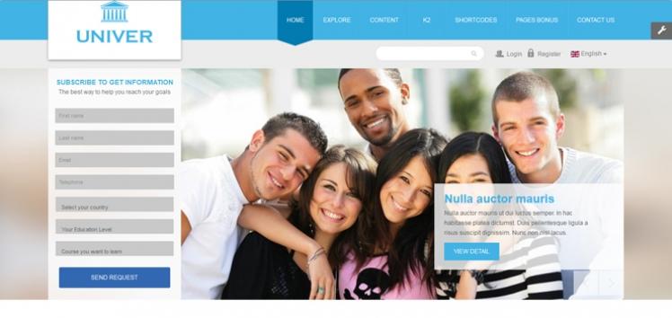 SJ Univer - Responsive Educational Joomla Template Release