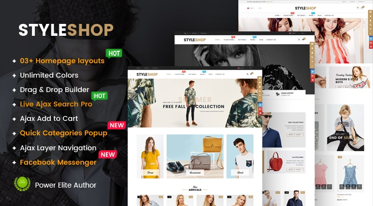 Ss StyleShop - Responsive Multipurpose Sections Shopify Theme
