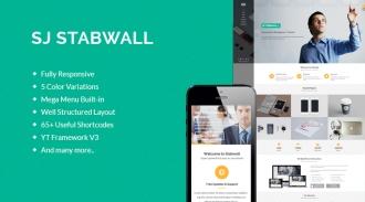 SJ Stabwall - Responsive Joomla Business Template