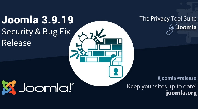 Joomla 3.9.19 Security & Bug Fixes Release