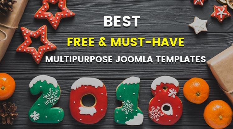 Best 15+ Free & Must-have Multipurpose Joomla Templates in 2018