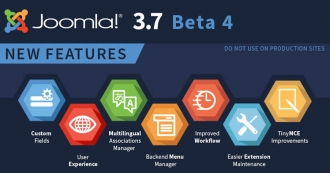 Joomla! 3.7.0 Beta 4 Released