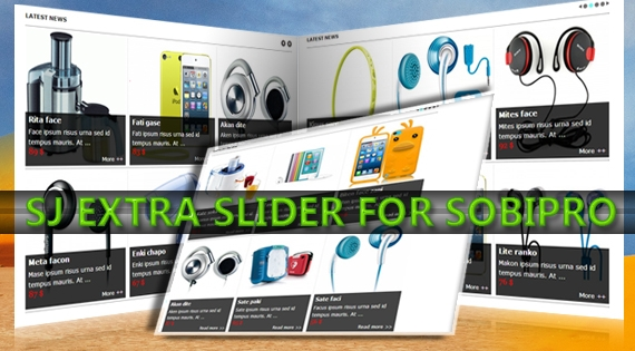 SJ Extra Slider for SobiPro - Joomla! Module