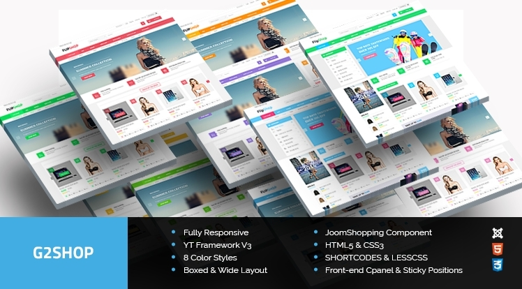 SJ G2Shop - Absolute Solution for eCommerce Websites with JoomShopping