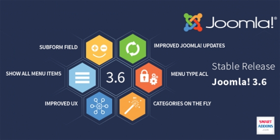 Joomla 3.6 is Now Available