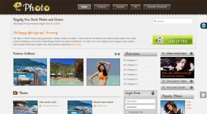 SJ Ephoto - Responsive Joomla Ephoto Template