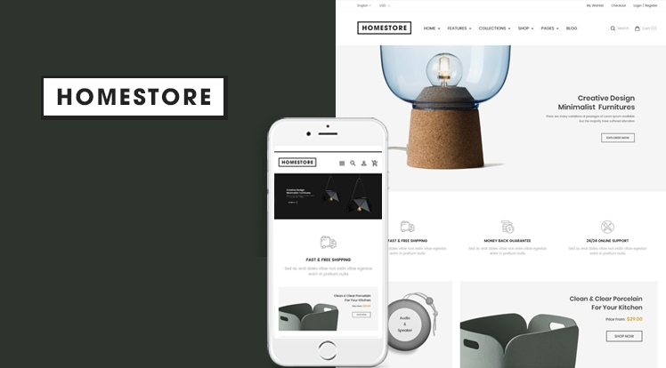 Ss HomeStore - Modern, Minimal & Multipurpose Sections Shopify Theme