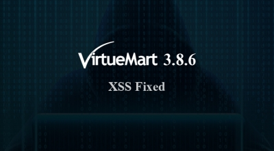 VirtueMart 3.8.6 Security Release - An XSS Vulnerability Fixed & Improvements