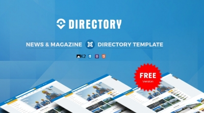 SJ Directory Free Version - A Powerful & Flexible Multipurpose Joomla Template