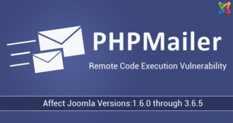 Joomla Security Announcement: PHPMailer Security Advisory