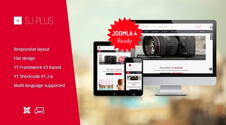 SJ Plus - Free Responsive Joomla Business Template