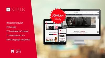 SJ Plus - Free Responsive Joomla business template