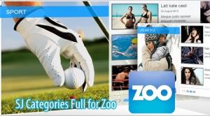 SJ Zoo Categories Full - Joomla! Module