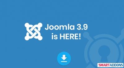[HOT] Joomla 3.9 is Available!