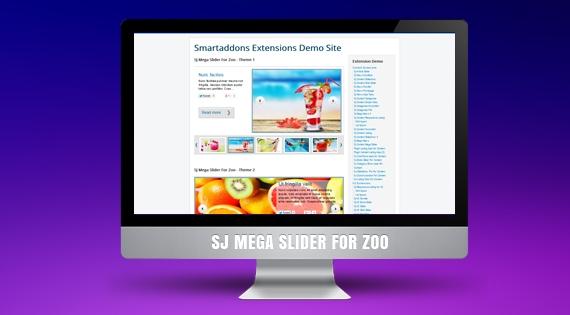 SJ Mega Slider for Zoo - Joomla! Module