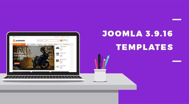 Joomla 3.9.16 Templates