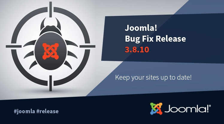 Joomla! 3.8.10 Bug Fixes Release