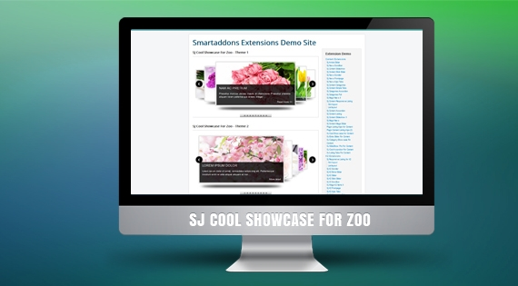 SJ Cool Showcase for Zoo - Joomla! Module