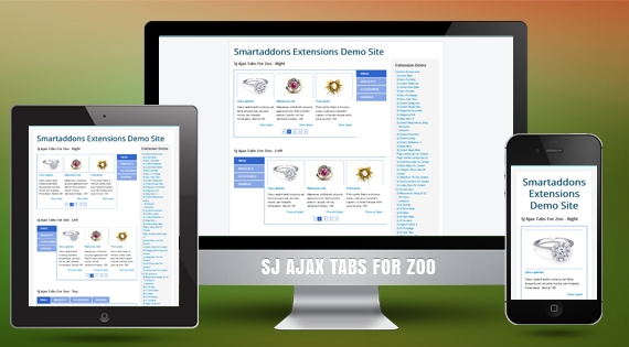 SJ Ajax Tabs for Zoo - Joomla! Module
