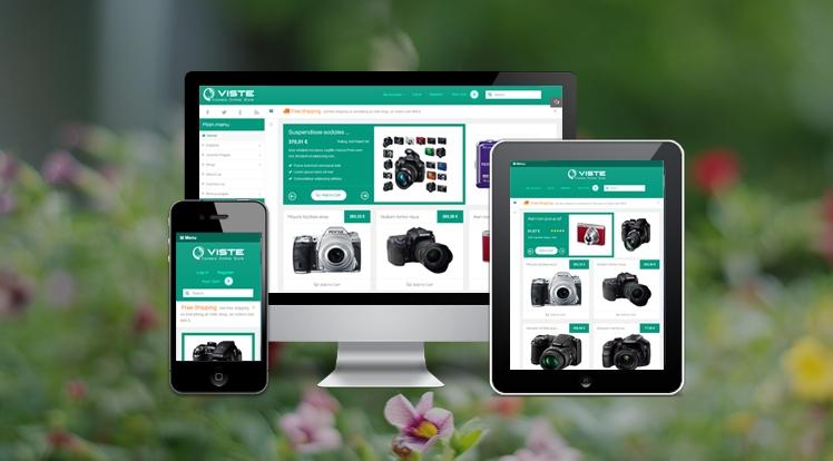 SJ Viste - Responsive Joomla eCommerce Template