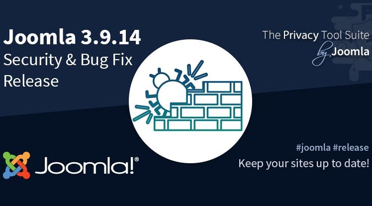 Joomla 3.9.14 Bug Fix & Security Release