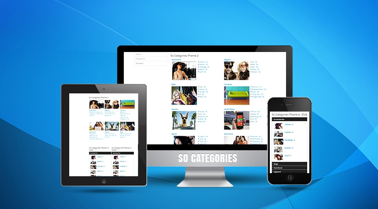 So Categories - Responsive OpenCart 3.0.x & OpenCart 2.x Module