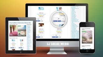 SJ Social Media - Joomla! Plugin