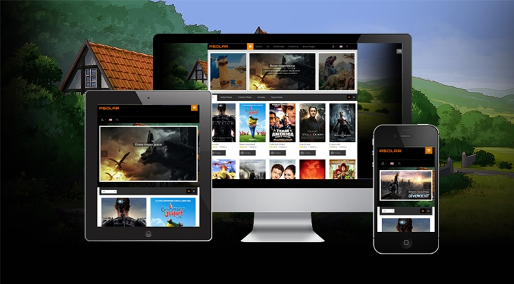 SJ Asolar - Responsive Joomla Movie Template