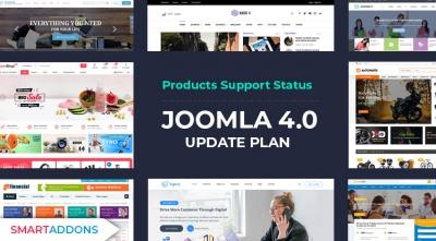 [SmartAddons] Products Support Status & Joomla 4 Update Plan