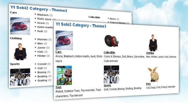 SJ Categories for VirtueMart - Joomla! Module