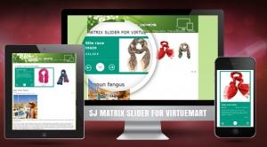 SJ Matrix Slider for VirtueMart - Responsive Joomla Module