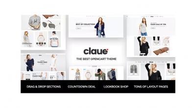 Claue - Clean & Minimalist OpenCart Theme