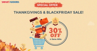 Thanksgiving, Black Friday & Cyber Monday Special Deals - 30% OFF & Exciting Offers