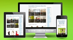 SJ Extra Slider for Hikashop - Joomla! Module