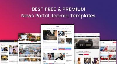 10+ Best Free & Premium News, Magazine Joomla Templates in 2021