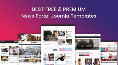 10+ Best Free & Premium News, Magazine Joomla Templates in 2021