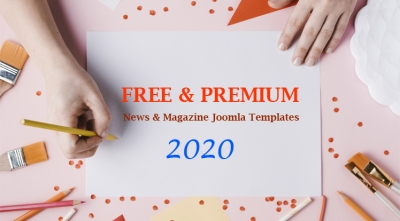 10+ Best Free & Premium News, Magazine Joomla Templates 2020