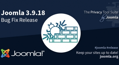 Joomla 3.9.18 & Joomla 3.9.17 - Bug Fix & Security Release