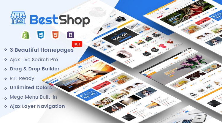 Ss BestShop - Multipurpose Responsive Shopify Theme with Sections