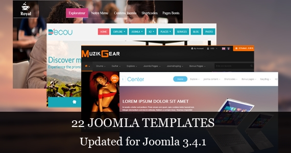 [Template Update] Joomla 3.4.1 Ready