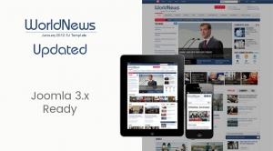 SJ WorldNews - Joomla Template for News magazine