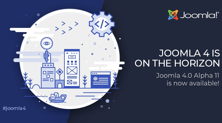 Joomla 4.0 Alpha 11 is Out