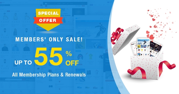 Special Offers for Smartaddons Members! Up to 55% OFF